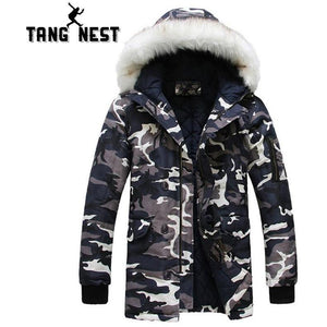 TANGNEST 2018 Hooded Jacket  With Fur