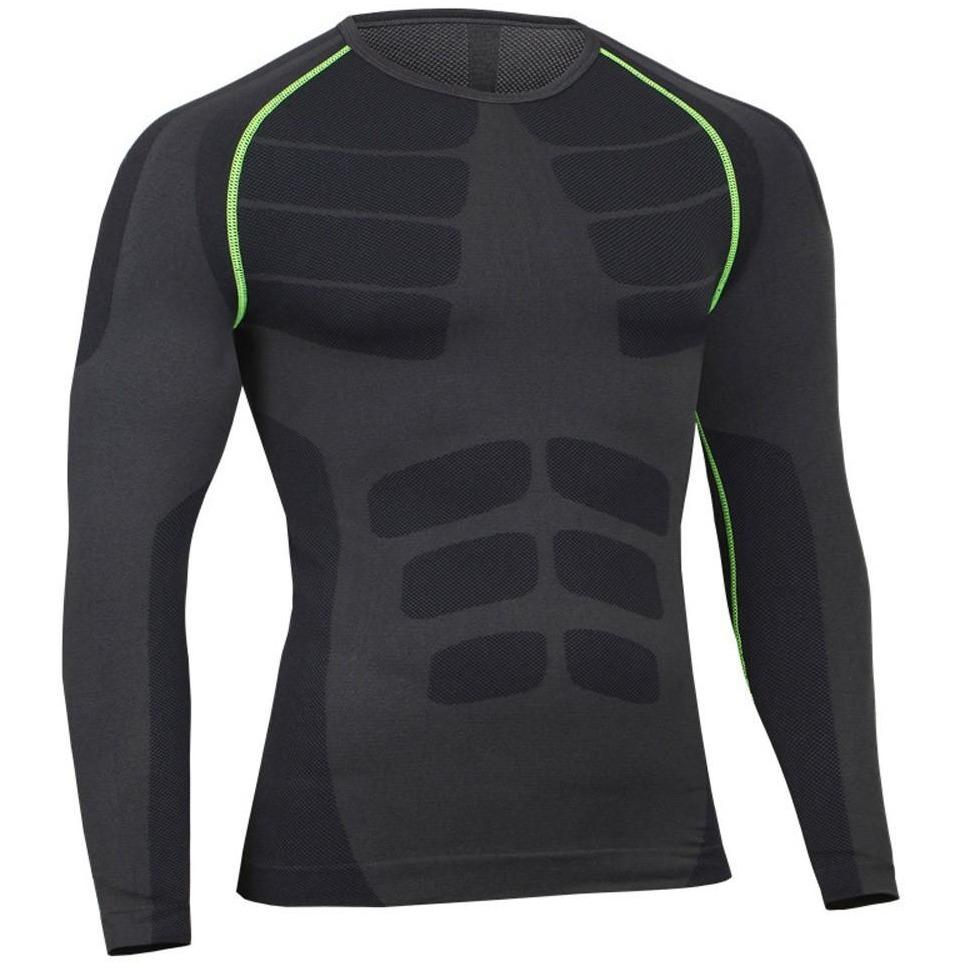 Man Workout Fitness Sports  Running Yoga Athletic Top