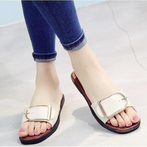 Summer new cool slippers summer fashion slippers Women's non-slip home sandals