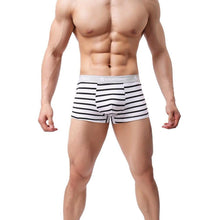 Men's  Sexy Underwear Striped Boxer Briefs