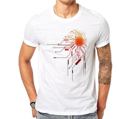 Cotton Personality Summer Men's T Shirt