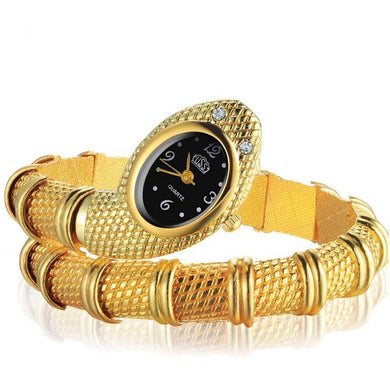Snake Shaped Bracelet Watch For  Women