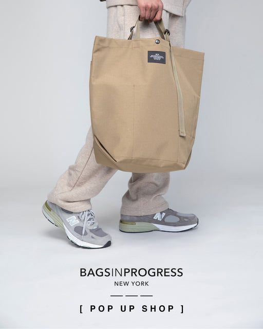 """BAGSINPROGRESS"" POP-UP Shop at Nepenthes NY"