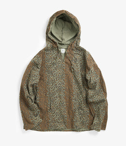 Mexican Parka - Leopard Printed Flannel / Camo