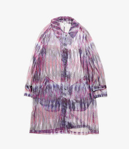 Bush Coat - Tie Dye Poly Lightweight Mesh / Print
