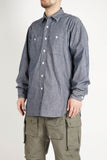 Work Shirt - Indigo Cotton Cone Chambray