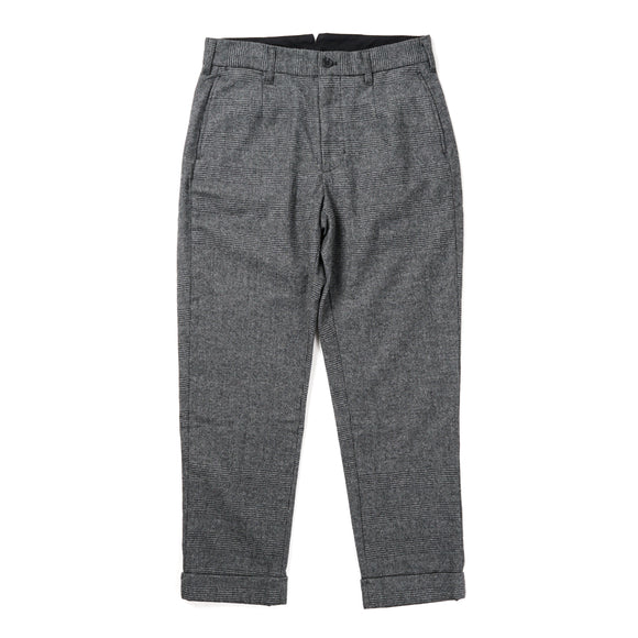 Andover Pant - Grey Wool Glen Plaid Stripe