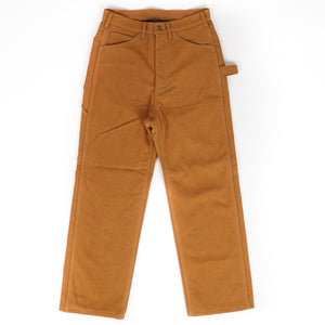 Lined Painter Pant - Mustard 16oz Canvas