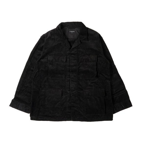 BDU Jacket - Black 14W Corduroy