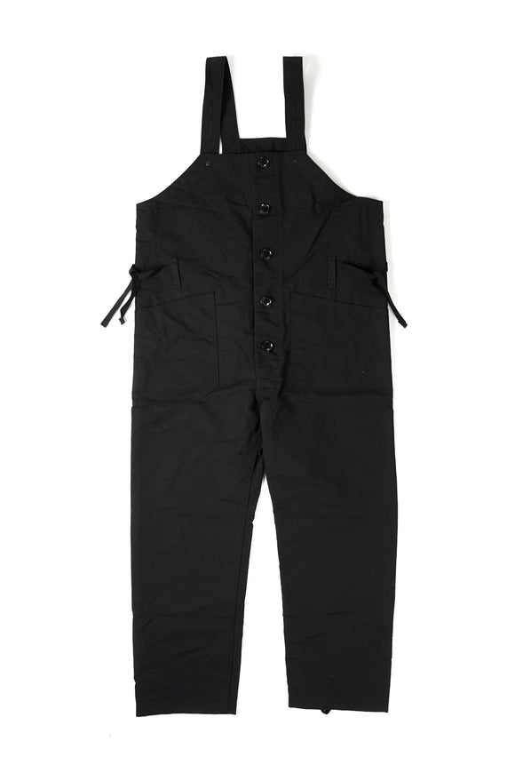 Waders - Black Cotton Double Cloth