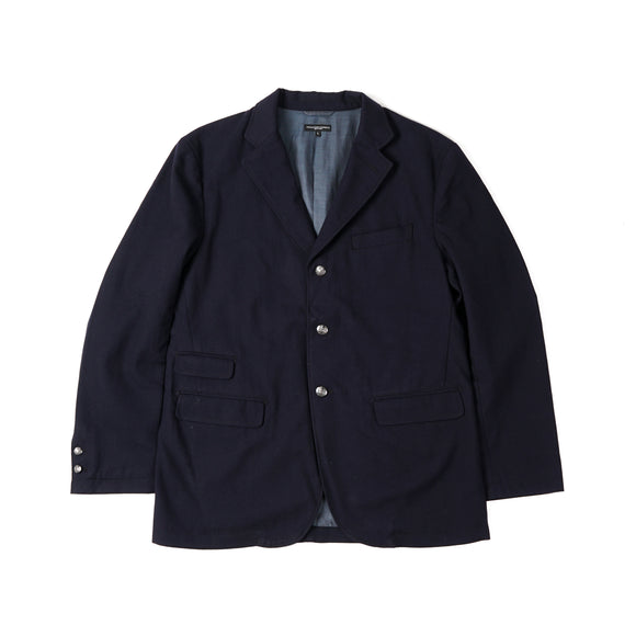 Lawrence Jacket - Dark Navy Wool Uniform Serge