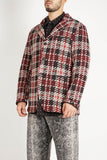 Leisure Jacket - Black Red Tweed Knit