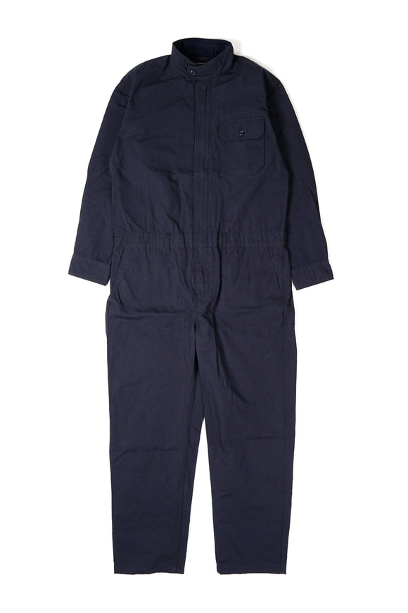 Boiler Suit - Dark Navy Cotton Ripstop