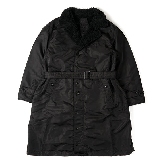 Storm Coat - Black Flight Satin Nylon