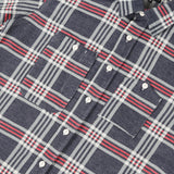 Work Shirt - Navy Teal Red Big Plaid