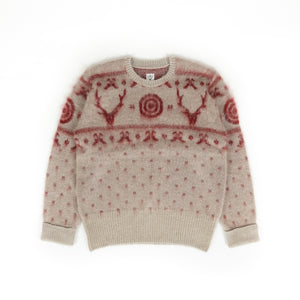 Loose Fit Sweater - Oyster S2W8 Nordic