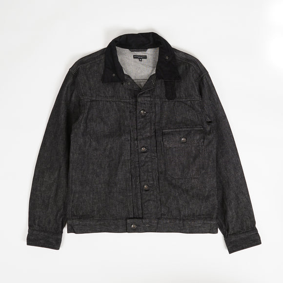 Trucker Jacket - Black 12oz Cone Denim
