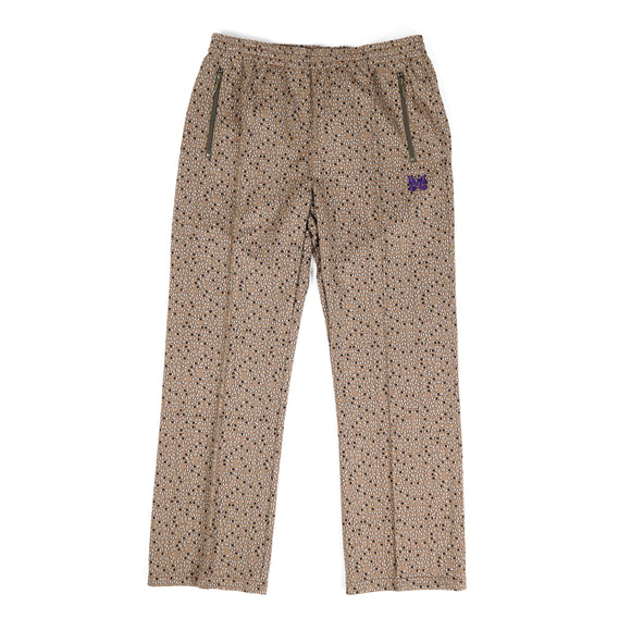 Track Pant - Salt & Pepper Poly Jacquard