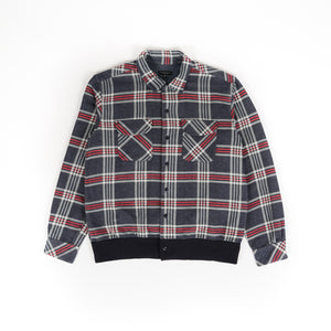Classic Shirt - Navy Teal Red Big Plaid