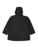 Madison Parka - Black Cotton Double Cloth