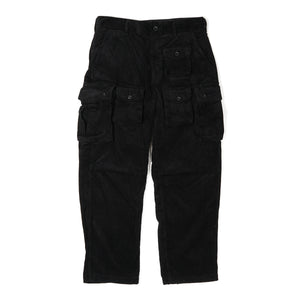 FA Pant - Black Cotton 8W Corduroy