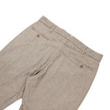 Andover Pant - Brown Wool Poly Gunclub Check