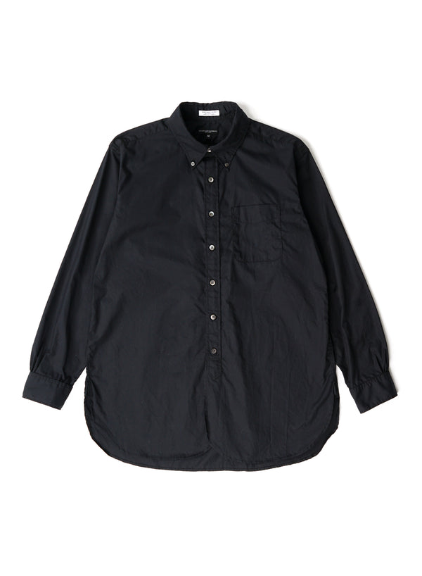 19 Century BD Shirt - Black 100's 2Ply Broadcloth