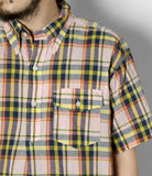 Popover BD Shirt- Pink/Yellow CL Madras Plaid