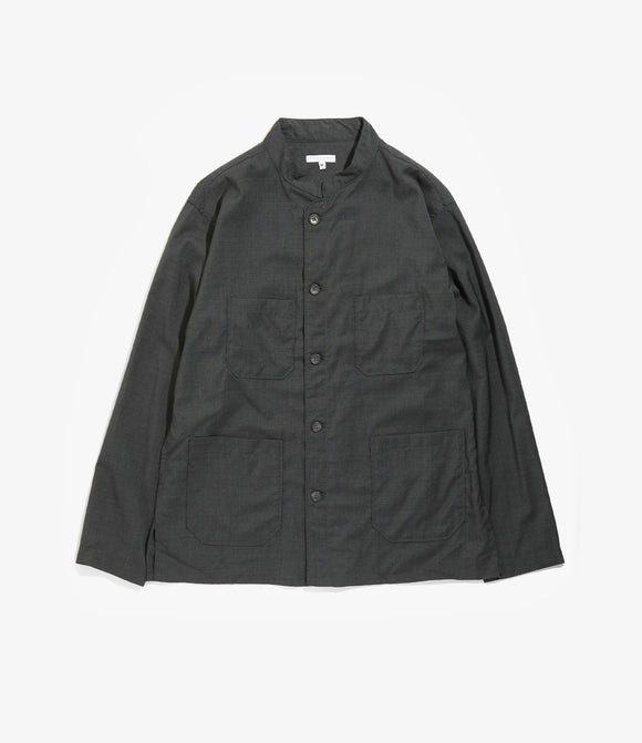 Dayton Shirt - Grey Tropical Wool
