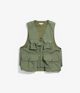 Game Vest - Olive Cotton Ripstop