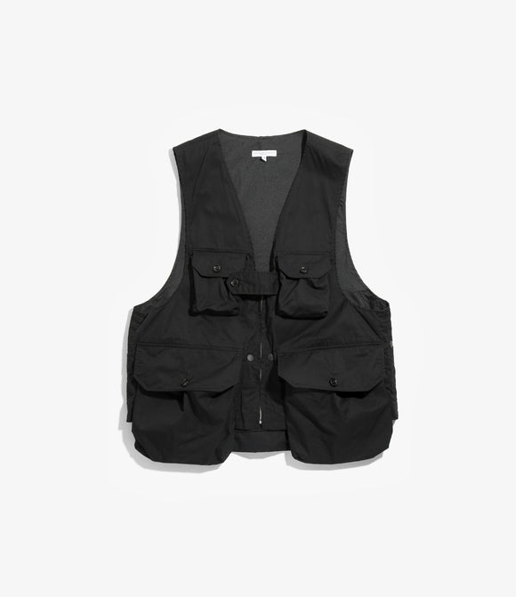 Game Vest - Black Highcount Twill