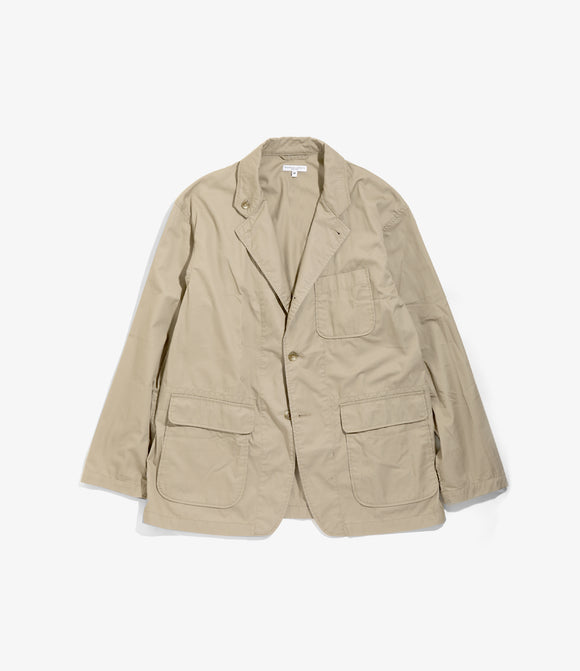 Loiter Jacket - Khaki Highcount Twill