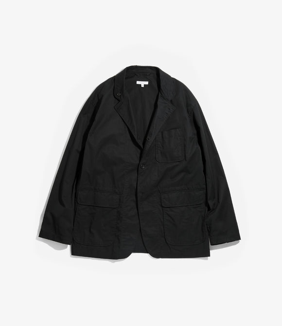 Loiter Jacket - Black Highcount Twill