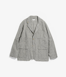 Loiter Jacket - Grey CL Glen Plaid