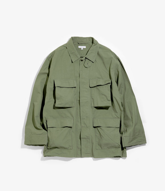 BDU Jacket - Olive Cotton Ripstop