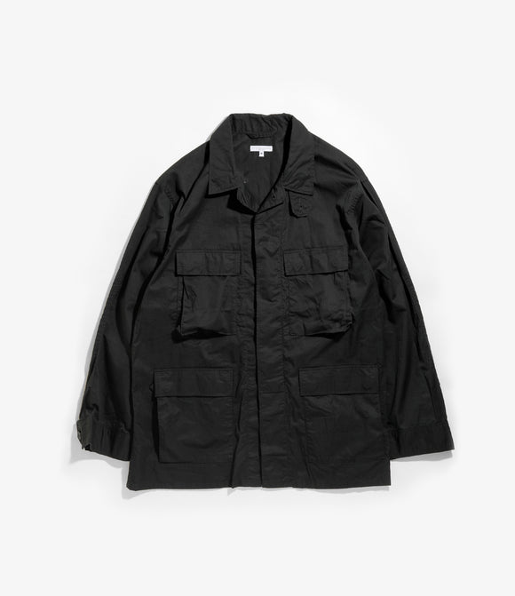 BDU Jacket - Black Highcount Twill