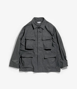 BDU Jacket - Heather Charcoal Poly Microfiber