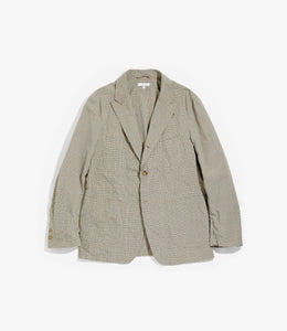 NB Jacket - Khaki Nyco Mini Tattersall