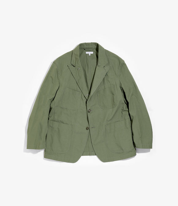 Bedford Jacket - Olive Cotton Ripstop