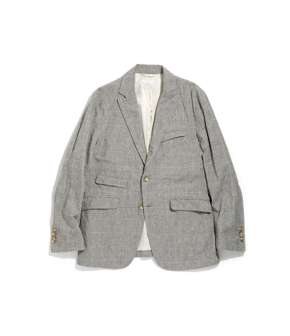 Andover Jacket - Grey CL Glen Plaid