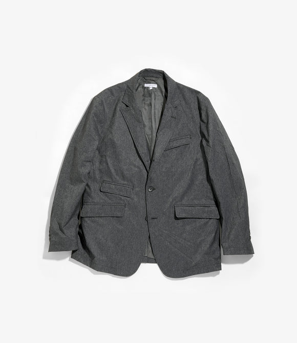 Andover Jacket - Heather Charcoal Poly Microfiber