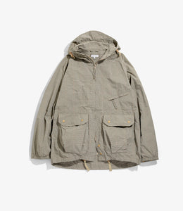 Atlantic Parka - Khaki Nyco Mini Tattersall
