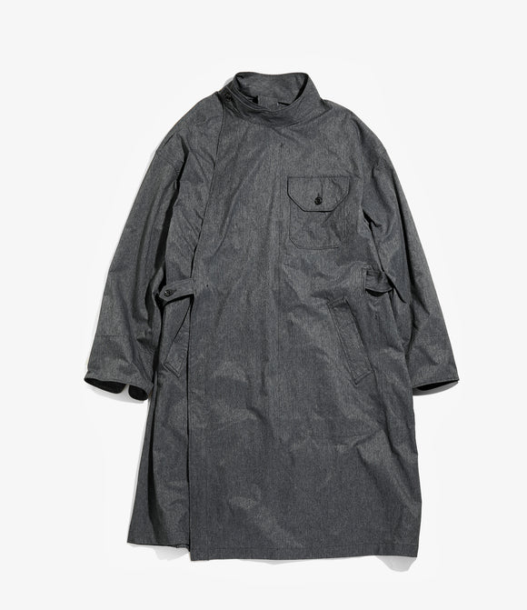 MG Coat - Heather Charcoal Poly Microfiber