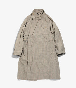 MG Coat - Khaki Nyco Mini Tattersall