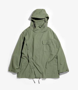 Sonor Shirt Jacket - Olive Cotton Ripstop