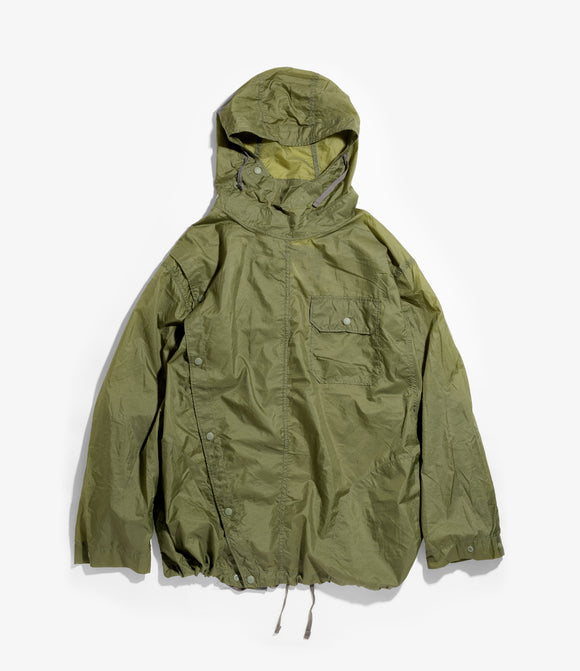 Sonor Shirt Jacket - Olive Nylon Micro Ripstop