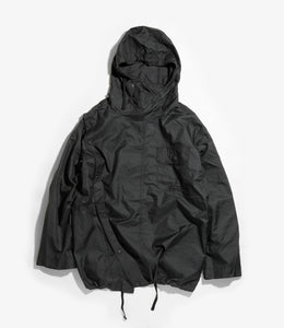 Sonor Shirt Jacket - Black Nylon Micro Ripstop