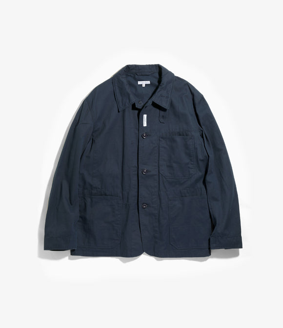 Work Jacket - Navy 6.5oz Flat Twill
