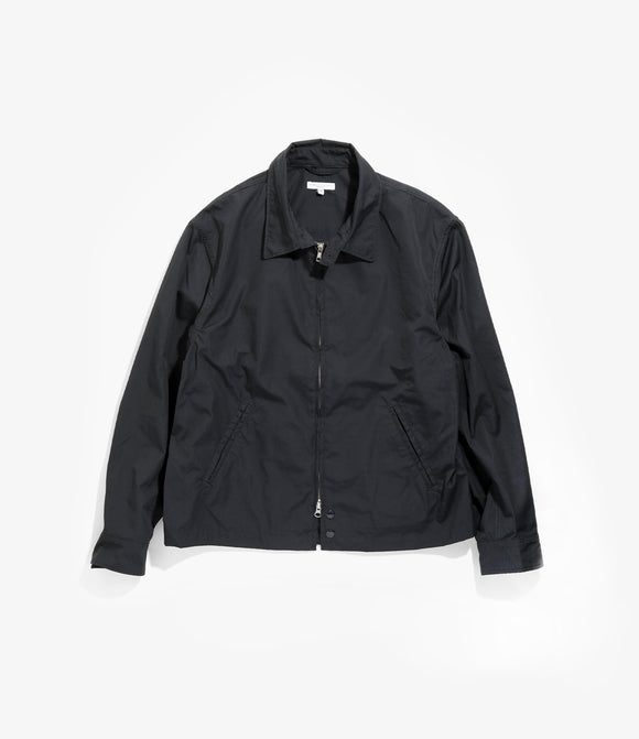 Claigton Jacket - Dark Navy PC Poplin