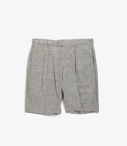 Sunset Short - Grey CL Glen Plaid